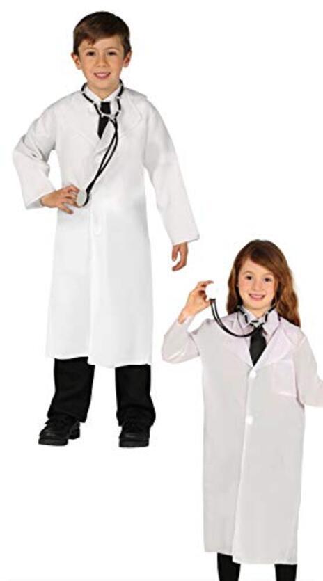Vestito Bambino Dottore 10-12 Anni - 6