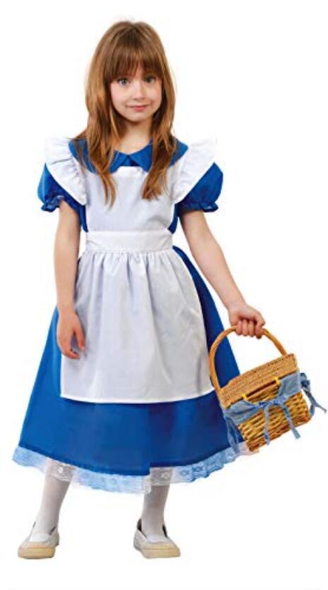 Vestito Alice 5-6 Anni - 2
