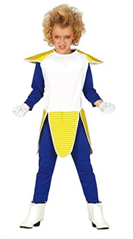 Vestito Super Sayan Samurai 5-6 Anni - 2