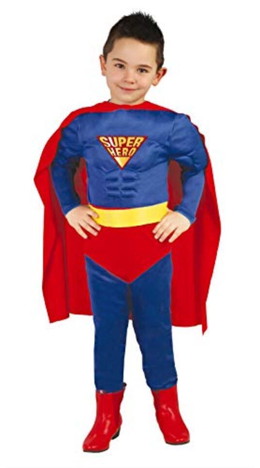 Vestito Supereroe 7-9 Anni - 3