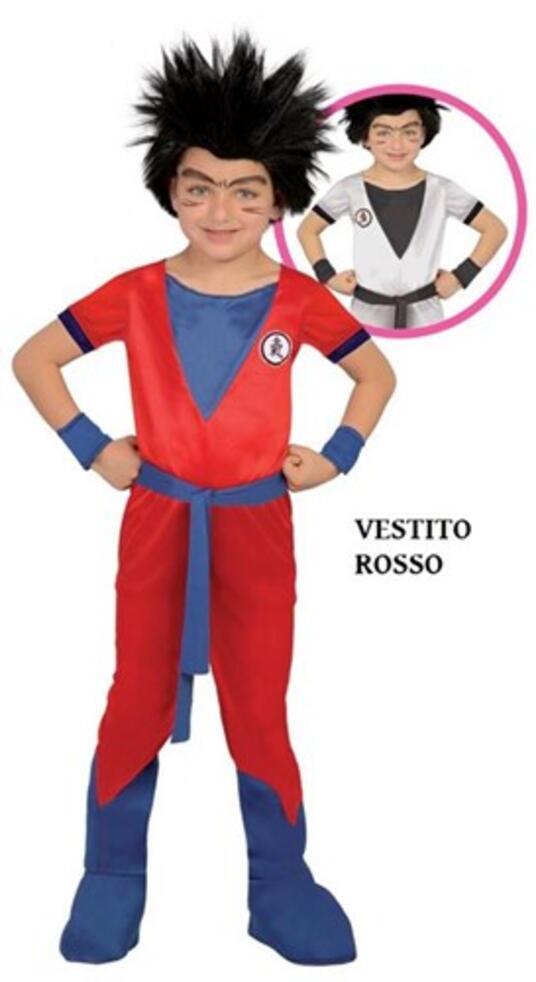 Vestito Goku Dragon Ninja 7-9 Anni - 2
