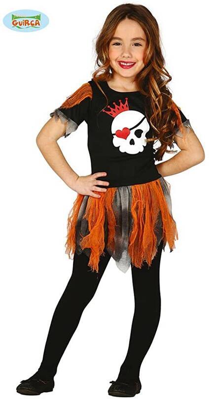 Costume skull girl. Da 7 anni