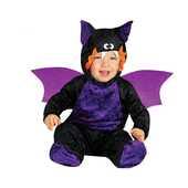 Idee regalo Costume Pipistrello Viola Halloween Bambino Neonato 1- 12 Mesi 64 - 82 cm Guirca
