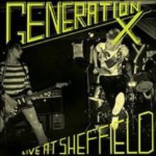 Live At Sheffield - Vinile LP di Generation X