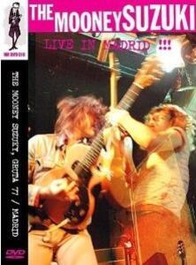 Mooney Suzuki. Live In Madrid - DVD