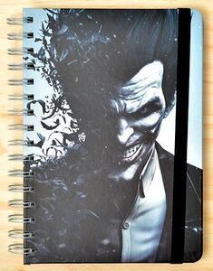 Quaderno Notebook A5 Premium. DC Comics. Arkham Origins