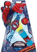 Idee regalo Spiderman Set Orologio + Torcia Old Toys