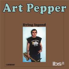 Living Legend - Vinile LP di Art Pepper