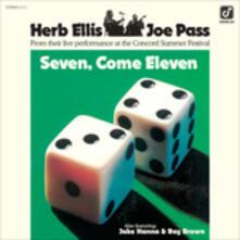 Seven Come Eleven - Vinile LP di Joe Pass,Herb Ellis