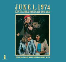 June 1, 1974 (180 gr.) - Vinile LP di Brian Eno,John Cale,Nico,Kevin Ayers