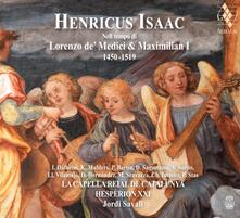 In the Time of Lorenzo De' Medici and Maximilian I - SuperAudio CD ibrido di Jordi Savall,Hespèrion XXI,Heinrich Isaac
