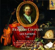 Les nations - SuperAudio CD ibrido di François Couperin,Jordi Savall