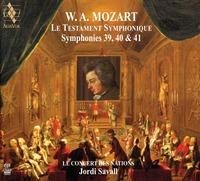 W.A. MOZART - LE TESTAMENT SYMPHONIQUE