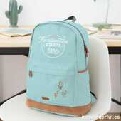 Cartoleria Mint backpack. The adventure starts here Mr Wonderful