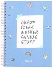 Cartoleria Quaderno Mr Wonderful. Crazy ideas & other genius stuff Mr Wonderful