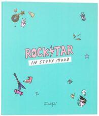Cartoleria Quaderno copertina ad anelli Mr Wonderful. Rockstar in study mood Mr Wonderful