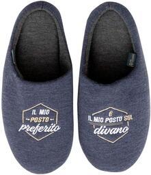 Pantofole Mr Wonderful. Il mio posto preferito… è il mio posto sul divano - 44-47
