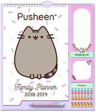 Cartoleria Calendario Family Planner 2018-2019 Pusheen the Cat Erik
