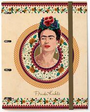 Cartoleria Quaderno copertina ad anelli Premium con elastico. Frida Kahlo Erik