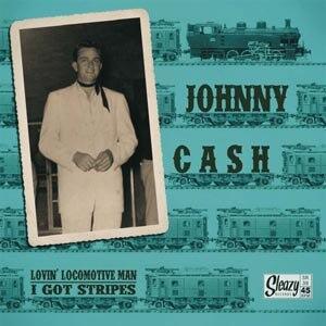 Johnny Cash - Lovin' Locomotive Man - I Got Stripes - Vinile 7''