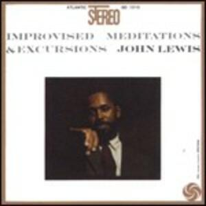 CD Improvised Meditations & Excursions John Lewis