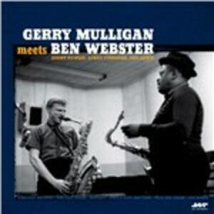 Gerry Mulligan Meets Ben Webster - Vinile LP di Gerry Mulligan,Ben Webster