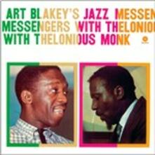 Art Blakey's Jazz Messengers with Thelonious Monk - Vinile LP di Art Blakey,Jazz Messengers,Thelonious Monk