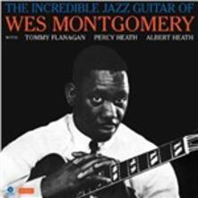 The Incredible Jazz Guitar - Vinile LP di Wes Montgomery
