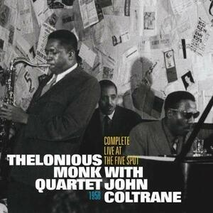 CD Complete Live at the Five Spot 1958 John Coltrane Thelonious Monk