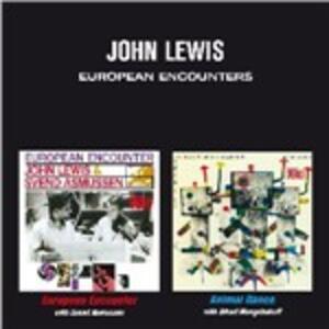 CD European Encounters John Lewis