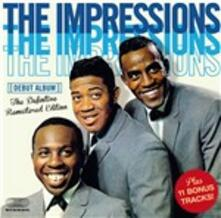 The Impressions Debut Album - CD Audio di Impressions
