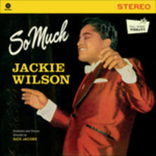 So Much - Vinile LP di Jackie Wilson