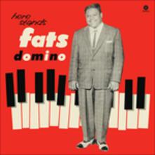 Here Stands Fats Domino - Vinile LP di Fats Domino