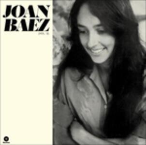 Joan Baez vol.2 - Vinile LP di Joan Baez