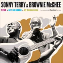Brownie McGhee & Sonny Terry Sing - Get on Board - At Sugar Hill - CD Audio di Sonny Terry,Brownie McGhee