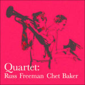 Quartet With Russ Freeman - Vinile LP di Chet Baker