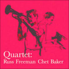 Quartet With Russ Freeman - Vinile LP di Chet Baker
