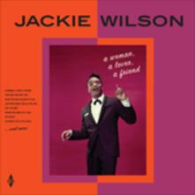 A Woman, a Lover, a Friend (Hq) - Vinile LP di Jackie Wilson