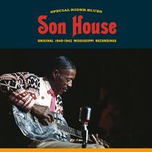 Special Rider Blues. Original 1940-1942 Mississippi Recordings (180 gr.) - Vinile LP di Son House