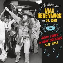 In the Studio with Mac Rebennack - Vinile LP di Dr. John