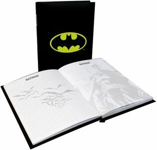 Quaderno Batman. Logo Light Up