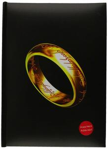 Lotr The One Ring Notebook W/Light