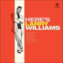 Here's Larry Williams - Vinile LP di Larry Williams