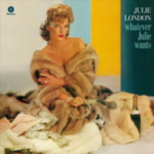 Whatever Julie Wants - Vinile LP di Julie London