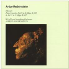 Concerti per pianoforte n.23 in La minore K488, n.21 in Do minore K467 - CD Audio di Wolfgang Amadeus Mozart,Arthur Rubinstein