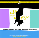 Cover CD Colonna sonora L'uomo dal braccio d'oro