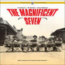 The Magnificent Seven (Colonna sonora) (+ Gatefold Sleeve) - Vinile LP di Elmer Bernstein