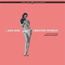 And God Created Woman (Colonna sonora) (Deluxe Gatefold) - Vinile LP di Paul Misraki