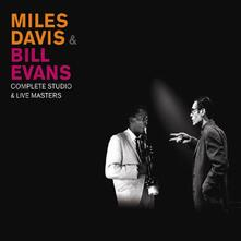 Complete Studio & Live Masters. Master Takes (Box Set) - CD Audio di Miles Davis,Bill Evans