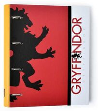 Cartoleria Quaderno copertina ad anelli con elastico A4 Premium. Harry Potter. Gryffindor. Grifondoro Erik